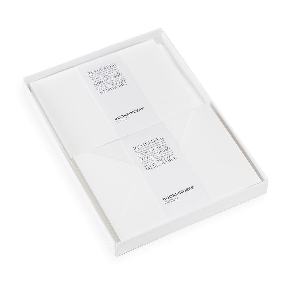 Stationery kit, White