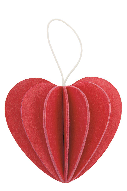 Lovi Hjärta, Röd