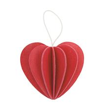 Lovi Cœur, rouge vif
