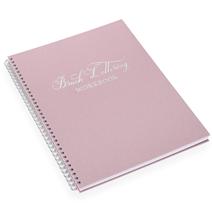 Brush lettering workbook, Dusty Pink, Silver