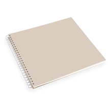 Photo album paper cover, Sandbrown