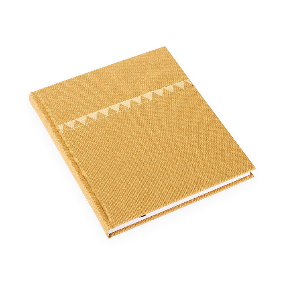Notizbuch gebunden, Skåne gold - Get the Gallop