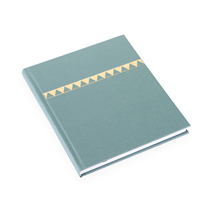 Notizbuch gebunden, Dusty green - Get the Gallop