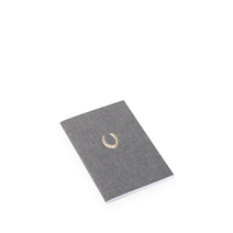Notebook Stitched, Pebble Grey - Get the Gallop