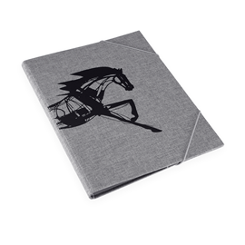 Folder, Pebble Grey - Get the Gallop