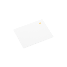 Correspondence card, with Little Heart