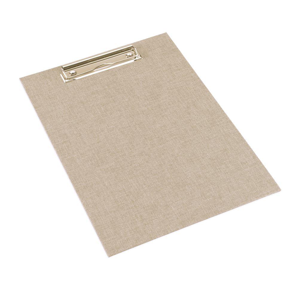 Clip board, Sand Brown