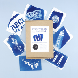 PAR Cyanotype Set - Postkarte