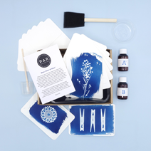 PAR Cyanotype Kit - Vykort