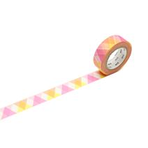 Washi - Triangle and Diamond Pink