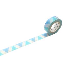 Washi - Triangle and Diamond Blue