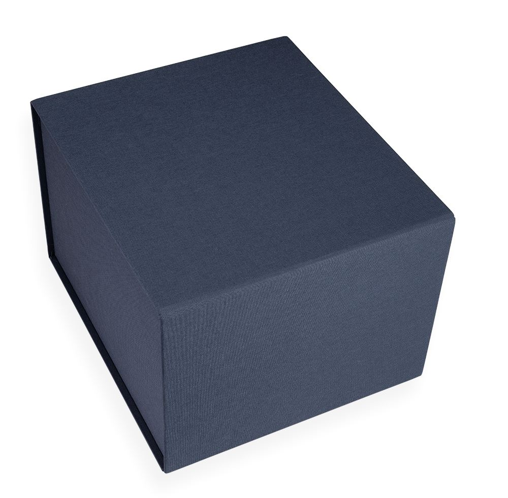 Hallway Box, Smoke Blue
