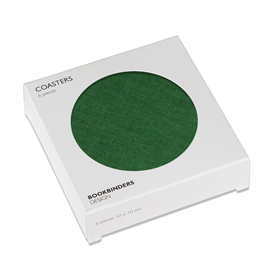 Coasters 6-pack, Clover Green