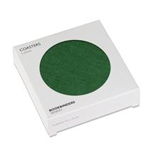 Glasuntersetzer 6-pack, Clover Green