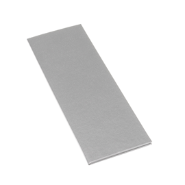 Menükarte, light grey canvas