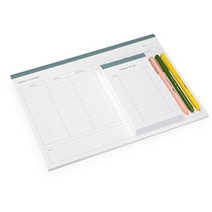 Set planner hebdomadaire & To-do list, Dusty Green