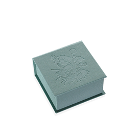 Box with lid, Tuvor, Dusty Green