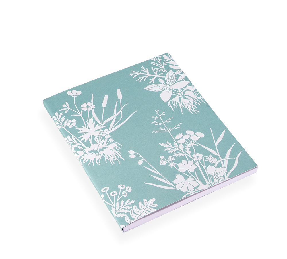 Notebook Soft Cover, Tuvor, Dusty Green