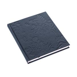 Inbunden anteckningsbok, Tuvor, Midnattsblå