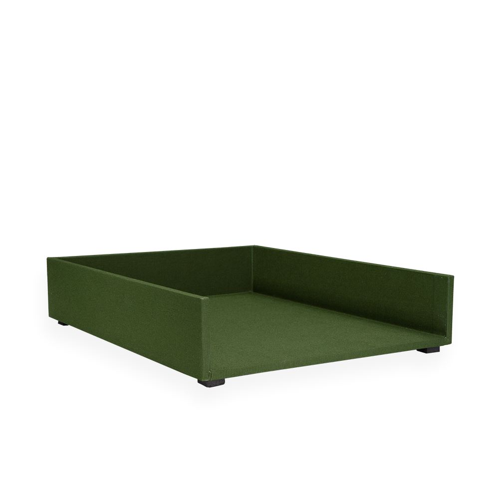 Letter tray, Pine Green