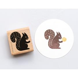 Stamp Squirrel 3, Medium A199