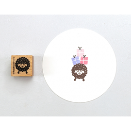 Stamp Sheep with dots