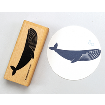 Stamp Blue Whale, Large C100