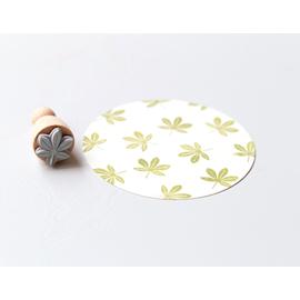 Stamp Chestnut Leaf