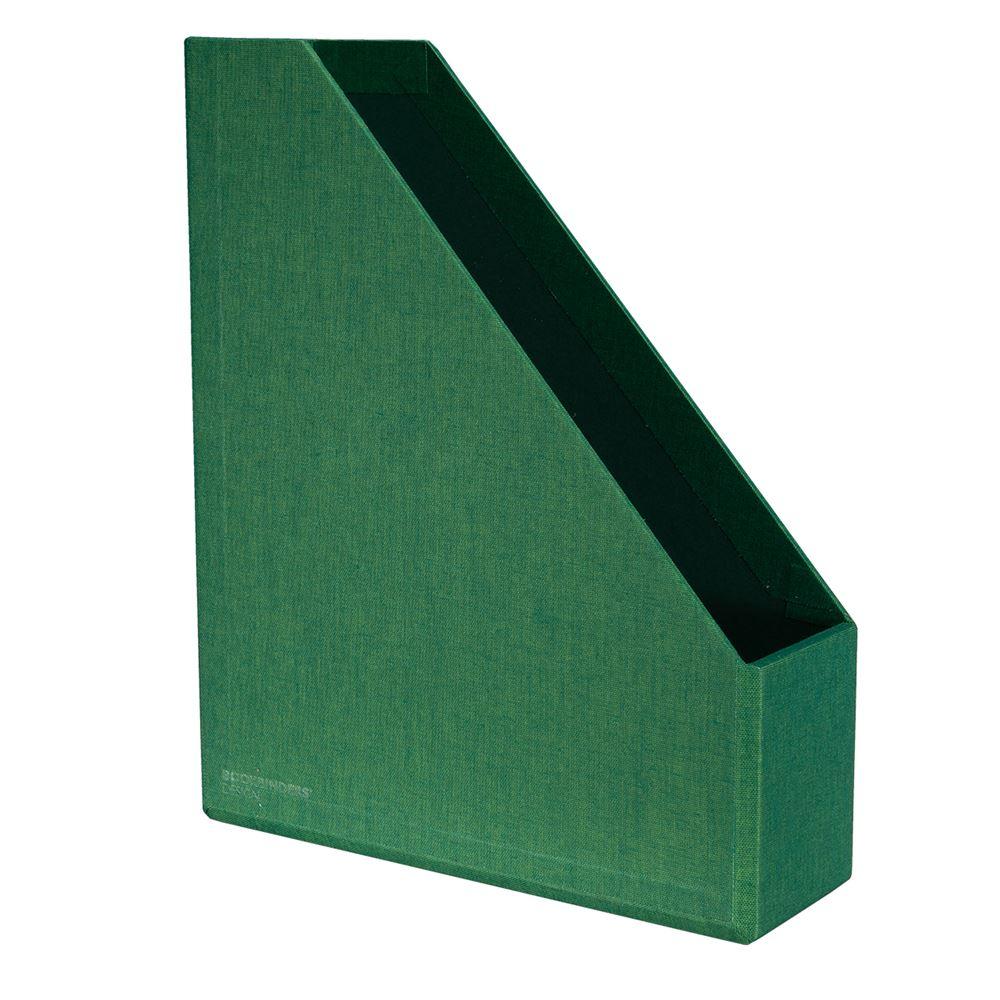 Vävklädd Tidskriftssamlare, Klövergrön