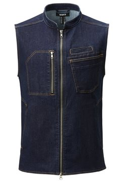Mika Unisex Jeans Väst