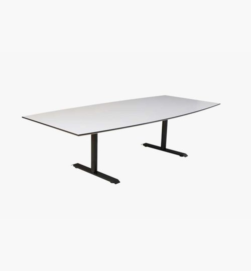 Konferansebord Meeting / T-Bone 260x120 cm, 3 farger bordplate