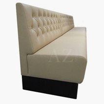 Sofa Tylösand med dypstiftede knapper valgfri tekstil/kunstskinn/skinn, valgfri størrelse