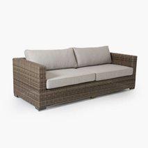 3-seters sofa Ninja, størrelse 212x88 cm