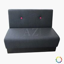 Sofa Luleå med knapper valgfri tekstil/kunstskinn/skinn, valgfri størrelse