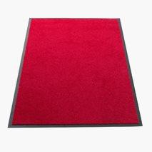Entrématta 150x90 cm, röd