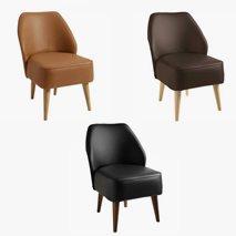 Lenestol Öland i kunstleder, 4 forskjellige design