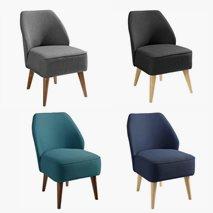Lenestol Öland i tekstil, 4 forskjellige design
