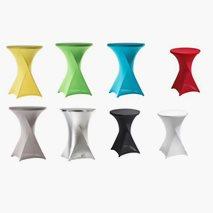 Stretchöverdrag till ståbord, 8 färger, Stretchtopp som tillval