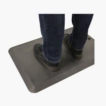 Ergonomisk ståmatte, mørkegrå, 75x50 cm