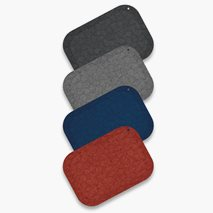 StandUp ergonomisk ståmatta, 4 färger, 53x77 cm