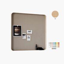 Skrivtavla Frame Wall, ram i ek, 24 färger, 3 storlekar