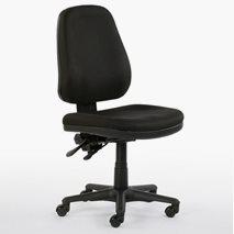 Kontorstol Team 9 plus, stoff, justerbar rygg, sittehøyde 44-57 cm, 3 farger