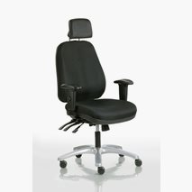 Kontorsstol Team 30, enkla justermöjligheter, sitthöjd: 46-61 cm, 3 färger