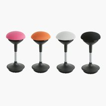 Balanspall Sitool 302B, ergonomisk, 4 färger