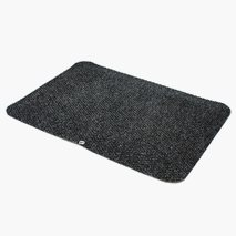 Ergozone Ståmatta, grå, textil, 50 x 70 cm