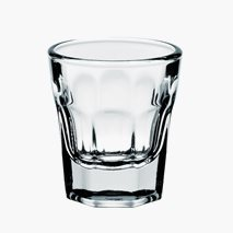 Shotglas America, 3,5 cl, härdat glas, stapelbar
