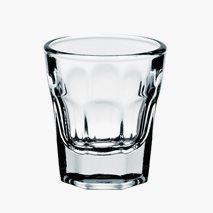 Shotglass Amerika, 3,5 cl, herdet glass, kan stables