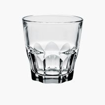 Granity whiskyglass, 20 cl, herdet glass, kan stables