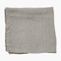 Serviett lin, 45X45 cm, 2-stk, natur, slut åter v47