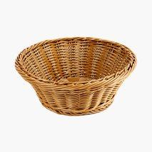 Brödkorg, Ø23 cm, polypropylen tråd, brun